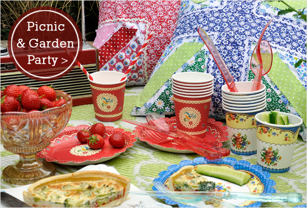 Picnic and garden party