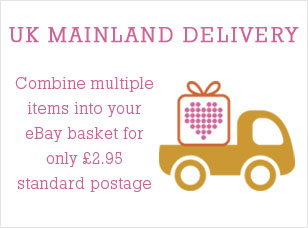 UK Mainland delivery. Combine multiple items into your Ebay basket for only £2.95 standard postage